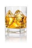 Chiavetta con whiskey Fotografia Stock