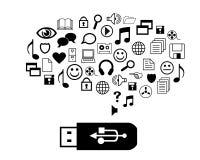 Chiavetta USB Fotografia Stock