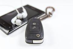 Chiavi dell'automobile Immagine Stock Libera da Diritti