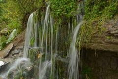 Chiavi slovene della bella cascata della cascata immagini stock libere da diritti