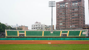 Chiayi baseballfält Fotografering för Bildbyråer