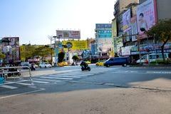 Chiayi stad royaltyfri foto
