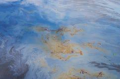 Chiazza di petrolio di olio immagini stock libere da diritti