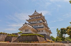 Chiba castle folk museum in Chiba, Japan Royalty Free Stock Image