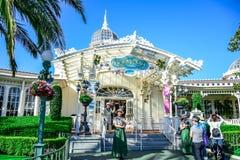 CHIBA, JAPÓN: Crystal Palace Restaurant en Adventureland, Tokio Disneyland Imagen de archivo