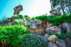 CHIBA, JAPAN: Grandma Sara`s Kitchen restaurant in Tokyo Disneyland. Grandma Sara`s Kitchen restaurant in Tokyo Disneyland royalty free stock images
