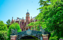 CHIBA, JAPAN: Haunted Mansion attraction in Fantasyland, Tokyo Disneyland Royalty Free Stock Photo