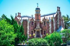 CHIBA, JAPAN: Haunted Mansion attraction in Fantasyland, Tokyo Disneyland Stock Photo