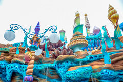CHIBA, JAPAN: Mermaid Lagoon atraction in Tokyo Disneysea located in Urayasu, Chiba, Japan. Mermaid Lagoon atraction in Tokyo Disneysea located in Urayasu, Chiba Royalty Free Stock Photography
