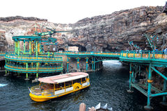 CHIBA, JAPAN: Mysterious Island attraction in Tokyo Disneysea located in Urayasu, Chiba, Japan. Mysterious Island attraction in Tokyo Disneysea located in royalty free stock photo