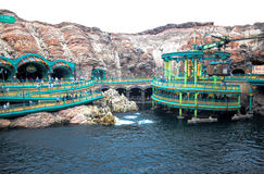 CHIBA, JAPAN: Mysterious Island attraction in Tokyo Disneysea located in Urayasu, Chiba, Japan. Mysterious Island attraction in Tokyo Disneysea located in royalty free stock images
