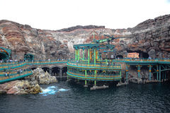 CHIBA, JAPAN: Mysterious Island attraction in Tokyo Disneysea located in Urayasu, Chiba, Japan. Mysterious Island attraction in Tokyo Disneysea located in stock photos