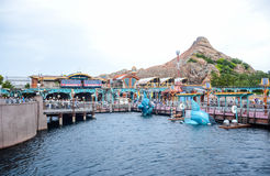 CHIBA, JAPAN: Port Discovery area in Tokyo Disneysea located in Urayasu, Chiba, Japan. Port Discovery area in Tokyo Disneysea located in Urayasu, Chiba, Japan Stock Photo