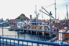 CHIBA, JAPAN: Mediterranean Harbor attraction in Tokyo Disneysea located in Urayasu, Chiba, Japan. Mediterranean Harbor attraction in Tokyo Disneysea located in stock photography
