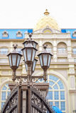CHIBA, JAPAN: Mickey Mouse gate lamp at the entrance of Tokyo Disneyland Hotel located in Tokyo Disney Resort, Urayasu, Chiba, Jap. Mickey Mouse gate lamp at the Royalty Free Stock Photos
