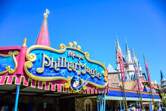 CHIBA, JAPAN: Mickey`s PhilharMagic theater in Tokyo Disneyland Royalty Free Stock Photo