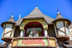 CHIBA, JAPAN: Pinocchio`s Daring Journey in Fantasyland, Tokyo Disneyland Stock Image