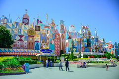 CHIBA, JAPAN: It`s A Small World attraction in Fantasyland, Tokyo Disneyland. It`s A Small World attraction in Fantasyland, Tokyo Disneyland Royalty Free Stock Photo