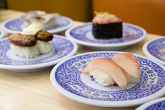 sushi at sakurazushi stock photo