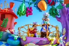 CHIBA, JAPAN: Tagesparade Urayasu, Japan Tokyos Disneyland Ostern Lizenzfreies Stockfoto