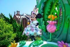 CHIBA, JAPAN: Tagesparade Urayasu, Japan Tokyos Disneyland Ostern Stockbild