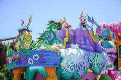 CHIBA, JAPAN: Tagesparade Urayasu, Japan Tokyos Disneyland Ostern Lizenzfreie Stockfotos