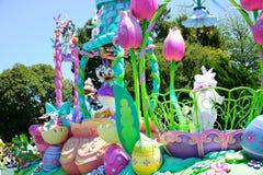 CHIBA, JAPAN: Tokyo Disneyland easter daytime parade Urayasu, Japan. Tokyo Disneyland easter daytime parade Urayasu, Japan Royalty Free Stock Photo