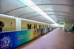 CHIBA, JAPAN: Tokyo Disneyland Resort monorail station, Urayasu, Chiba, Japan Royalty Free Stock Photos