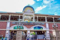 CHIBA, JAPAN: Tokyo Disneyland Resort monorail station, Urayasu, Chiba, Japan Stock Photo