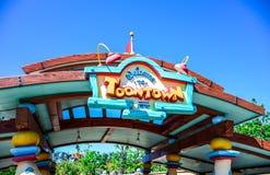 CHIBA, JAPAN: Toontown attraction in Tokyo Disneyland Stock Photos