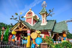 CHIBA, JAPAN: Toontown attraction in Tokyo Disneyland Royalty Free Stock Images