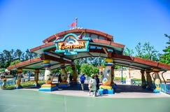 CHIBA, JAPAN: Toontown zone at Tokyo Disneyland Stock Images