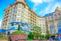 CHIBA, JAPAN: View of Tokyo Disneyland Hotel located in Tokyo Disney Resort, Urayasu, Chiba, Japan Stock Photos