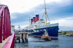 CHIBA, JAPON : S S Colombie dans la région américaine de bord de mer à Tokyo Disneysea situé à Urayasu, Chiba, Japon photographie stock