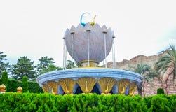 CHIBA, JAPONIA - MAY, 2016: Arabski Brzegowy przyciąganie teren w Tokio Disneysea lokalizować w Urayasu, Chiba, Japonia zdjęcie stock