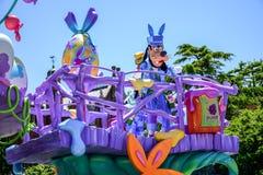 CHIBA, JAPONIA: Tokio Disneyland Easter dzienna parada Urayasu, Japonia Zdjęcia Royalty Free