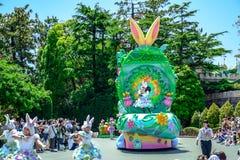 CHIBA, JAPONIA: Tokio Disneyland Easter dzienna parada Urayasu, Japonia Zdjęcie Stock
