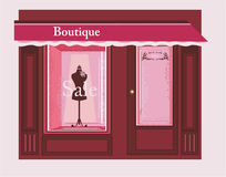 Chic Boutique Royalty Free Stock Photography
