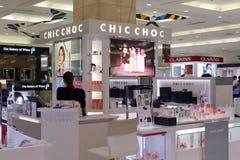 Chic chocskönhetsmedel Fotografering för Bildbyråer