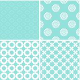 Chic different vector seamless patterns. Cute vector background vector illustration