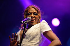 Chic featuring Nile Rodgers (band) performs at Sonar Festival Royalty Free Stock Photo