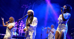 Chic featuring Nile Rodgers (band) performs at Sonar Festival Stock Photo