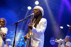 Chic featuring Nile Rodgers (band) performs at Sonar Festival Royalty Free Stock Photos