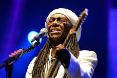 Chic featuring Nile Rodgers (band) performs at Sonar Festival Stock Photography