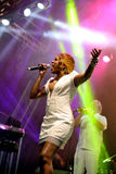 Chic featuring Nile Rodgers (band) performs at Sonar Festival Royalty Free Stock Photography