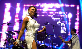 Chic featuring Nile Rodgers (band) performs at Sonar Festival Royalty Free Stock Images