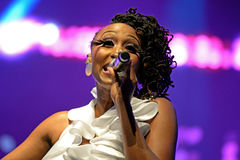 Chic featuring Nile Rodgers band performs at Sonar Festival Stock Photography