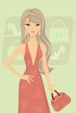 Chic girl Stock Image