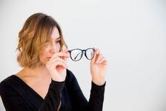 2 chic glasses latin Стоковые Изображения