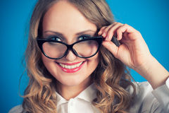 2 chic glasses latin Στοκ φωτογραφία με δικαίωμα ελεύθερης χρήσης